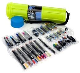 Artist Tube Art Set: Lime/Blue