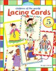 Product Image. Title: Children of the World Lacing Cards