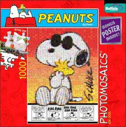 Peanuts Joe Cool Photomosaic 1,000 Piece Puzzle