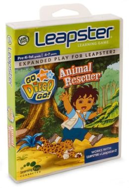 LeapFrog Leapster Learning Game: Go Diego Go!