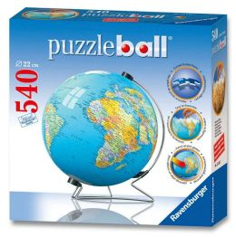 The Earth Puzzleball - 540 pieces