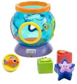 Lamaze Baby Development Toy - Shapes & Sounds Fish Bowl