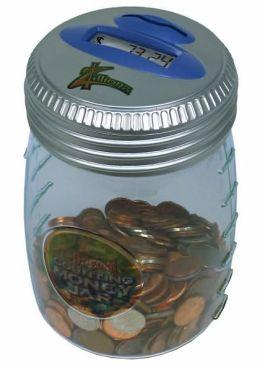 Counting Money Jar