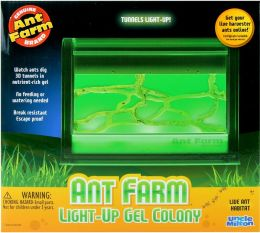 Illuminated Ant Farm Gel Colony