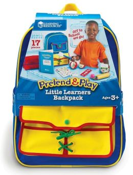 Pretend and Play Little Learners Backpack