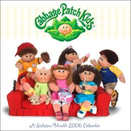 2006 Cabbage Patch Wall Calendar