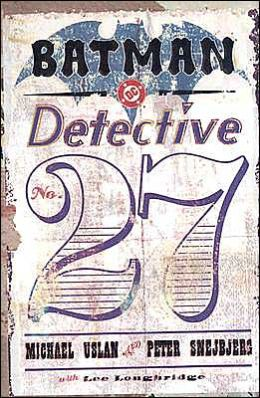 Batman: Detective #27 (Elseworlds Series)