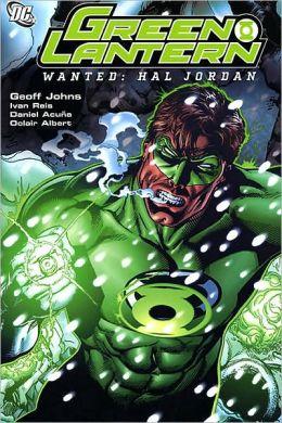 Green Lantern: Wanted Hal Jordan