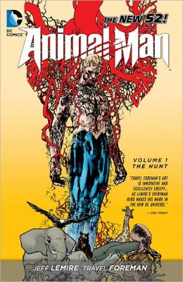 Animal Man Volume 1: The Hunt (The New 52) (NOOK Comics with Zoom View)
