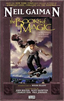 The Books of Magic (NOOK Comics with Zoom View)