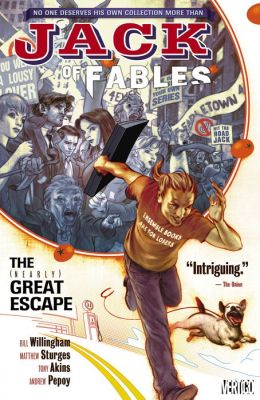 Jack of Fables Vol. 1: The Nearly Great Escape (NOOK Comic with Zoom View)