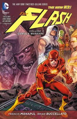 The Flash, Volume 3: Gorilla Warfare (The New 52) (NOOK Comic with Zoom View)