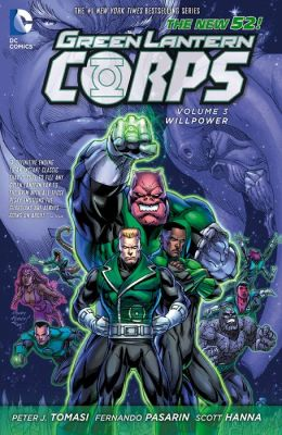 Green Lantern Corps Vol. 3: Willpower (The New 52) (NOOK Comic with Zoom View)