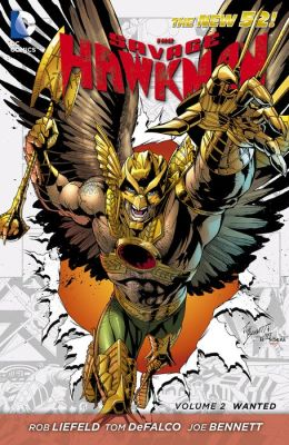 The Savage Hawkman Vol. 2: Wanted (The New 52) (NOOK Comic with Zoom View)