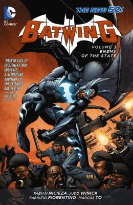Batwing Vol. 3: Enemy of the State (The New 52) (NOOK Comic with Zoom View)