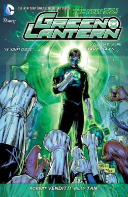 Green Lantern Vol. 4: Dark Days (The New 52) (NOOK Comic with Zoom View)