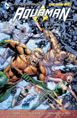 Aquaman Vol. 4: Death of A King (The New 52) (NOOK Comic with Zoom View)