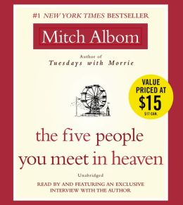 mitch alboms the five people you meet in heaven essay The five people you meet in heaven is a novel by mitch albom it follows the life  and death of a maintenance man named eddie eddie is killed and sent to.
