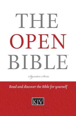 The Open Bible, KJV