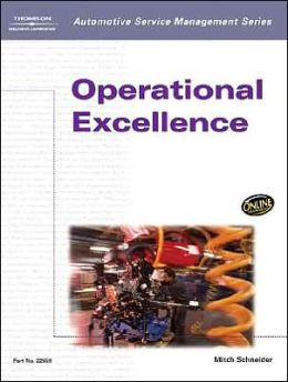 Automotive Service Management: Operational Excellence
