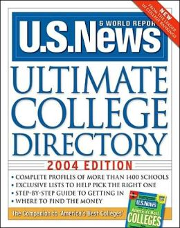 Ultimate College Directory 2004