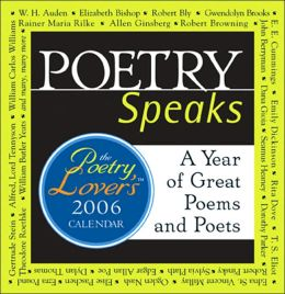 2006 Poetry Speaks Box Calendar