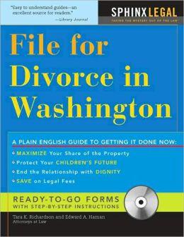 File for Divorce in Washington