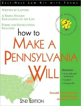 How to Make a Pennsylvania Will