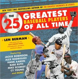 25 Greatest Baseball Players of All Time