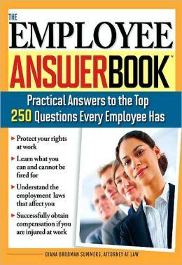Employee Answer Book