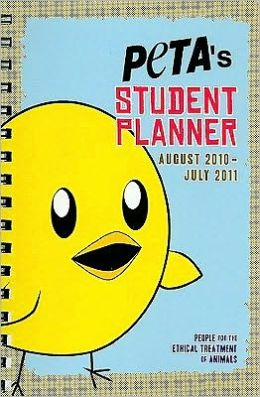 2011 PETA's Student Planner