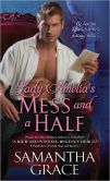 Book Cover Image. Title: Lady Amelia's Mess and a Half, Author: Samantha Grace