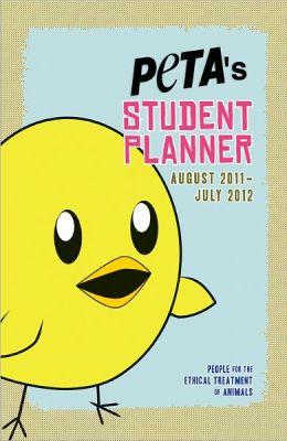 2012 PETA's Student Planner