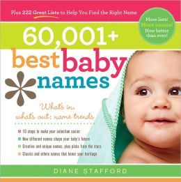 60,001+ Best Baby Names (PagePerfect NOOK Book)