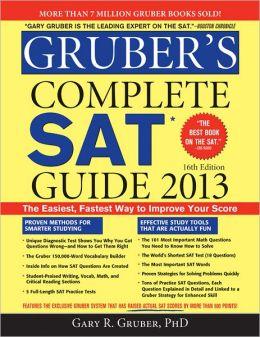 Gruber's Complete SAT Guide 2013, 16E