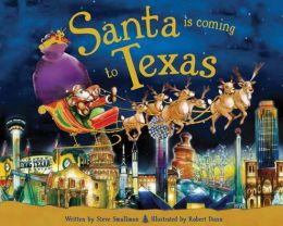 Santa Is Coming to Texas (PagePerfect NOOK Book)