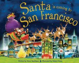 Santa Is Coming to San Francisco (PagePerfect NOOK Book)