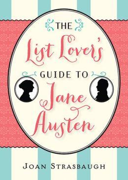 List Lover's Guide to Jane Austen