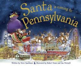 Santa Is Coming to Pennsylvania (PagePerfect NOOK Book)
