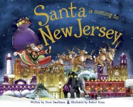 Santa Is Coming to New Jersey (PagePerfect NOOK Book)