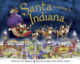Santa Is Coming to Indiana (PagePerfect NOOK Book)