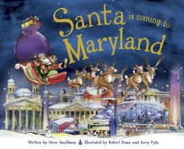 Santa Is Coming to Maryland (PagePerfect NOOK Book)