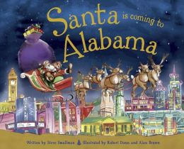Santa Is Coming to Alabama (PagePerfect NOOK Book)
