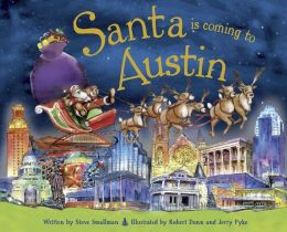 Santa Is Coming to Austin (PagePerfect NOOK Book)