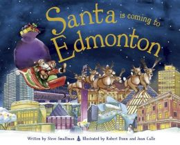 Santa Is Coming to Edmonton (PagePerfect NOOK Book)