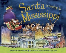 Santa Is Coming to Mississippi (PagePerfect NOOK Book)
