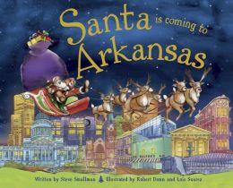 Santa Is Coming to Arkansas (PagePerfect NOOK Book)