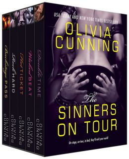 Olivia Cunning Bundle: Backstage Pass, Rock Hard, Double Time, Hot Ticket