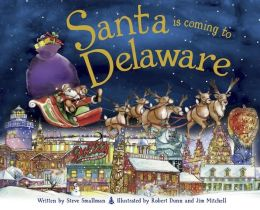 Santa Is Coming to Delaware (PagePerfect NOOK Book)