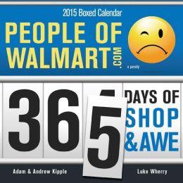 2015 People of Walmart Box Calendar